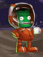 Coffee on the Mun by muffin-wrangler