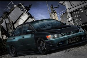 Lancer Evolution by mateus12345