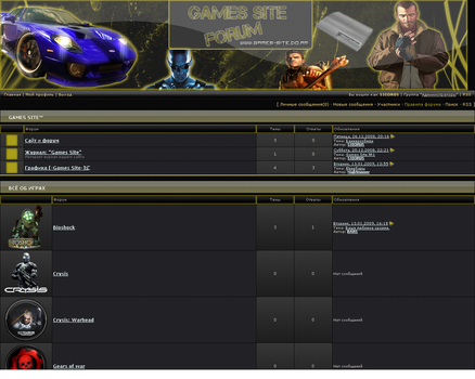 Forum screenshot 2008 by s3iorus