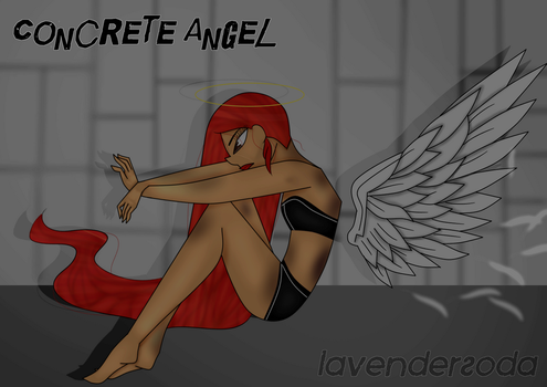 Concrete Angel by LavenderSoda