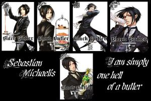 Sebastian Michaelis Wallpaper by HikazePrincess