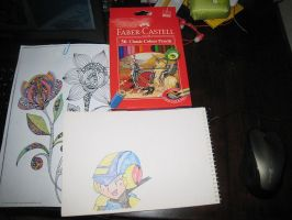 My New Color Pencils by tanlisette