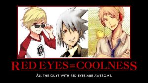 Red Eyes=coolness by Tbear987