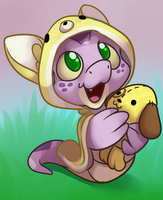 Neopets - Baby Hissi by nyausi