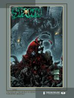 Comicon 2006 Spawn poster by butones