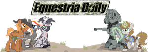 Fallout Equestria Banner by DarkSittich