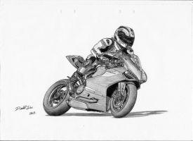 Ducati 1199 Panigale S by LandinDesign