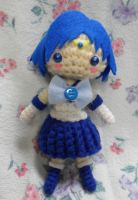 Crocheted Sailor Mercury by Zhonaluz