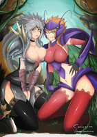 League Of Legends rengaa and Kha'zix by TorahimeMax