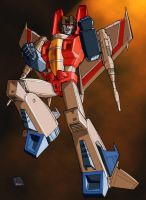 Caliber316's Starscream by autobotcity