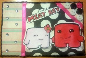 Cardmaking Super Meat Boy by Eri-Yo
