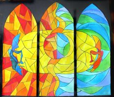 Father, Son and the Holy Spirit by Muchna