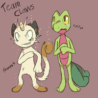 Team Claws by Smudgeful-Thinking
