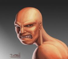 brutal bald by Dectroh