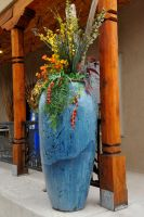 Vase with flora by lawout16