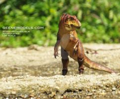 Acrocanthosaurs Articulated 1:35 scale by GalileoN