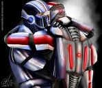 We know this is goodbye - Kaidan and Shepard - ME3 by sasorizanoko