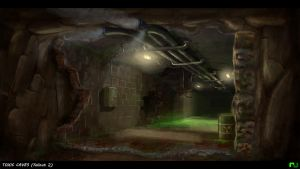 Toxic Caves from Fallout2 by rambooze