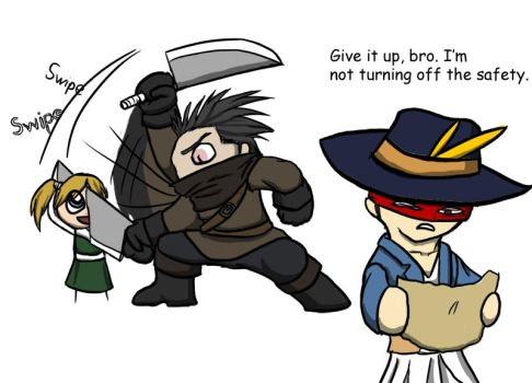 Fable 2 - Playing Co-op by Pandadrake