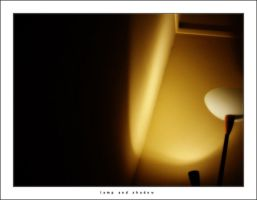 Lamp and shadow by thespook