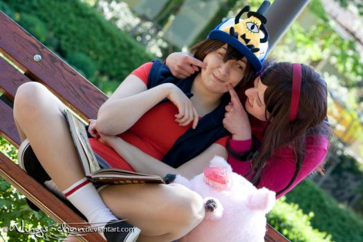 Dipper and Mabel Pines | II by Wings-chan