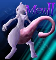 Transform to Mewtwo 2 -Colored by monchiken