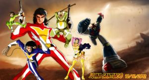 Voltes V by joma33