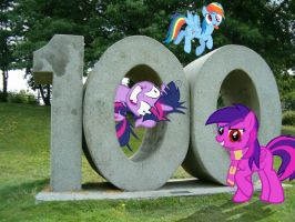 100th by Paris7500