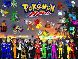 Pokemon RPM Group Shot by rangeranime