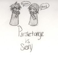 Parseltongue is Sexy by myhappilyeverafter