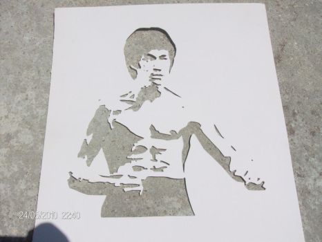 Bruce Lee by MalakaiDeCarvalho