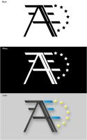 logo assocation AES by bartmike
