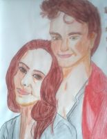 Bella and Edward by MyCurtainHauntsME