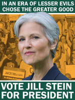 Vote Jill Stein by Party9999999