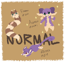 Normal Pkmn by GravelPudding