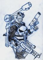 Punisher for Chamba's Jam by Hen-Hen