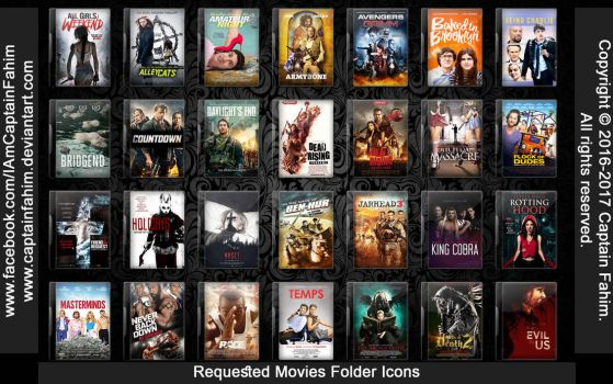 Requested Movies Folder Icons - Code #70000007 by CaptainFahim