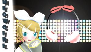 [MMD] Fluffy Ribbon Headset DOWNLOAD by Nekomimi-Chan00