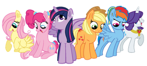 Mane Six- My Style by yoymonkey
