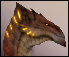 Lava Dragon by Gul-reth