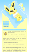 Jolteon 04 by MikariStar