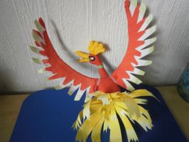 ho-oh 1 by ChibiLinda