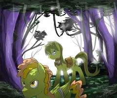 Lost in the Everfree...... by stupidyou3