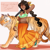 OPOC: 'Tiger Claw' Indali by Sogequeen2550