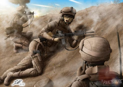 Enemy Contact by Panzerfire