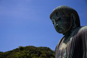 The Great Buddha of Kotoku-in - 2 by wonderflex