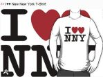 I heart heart New New york by Thowell3
