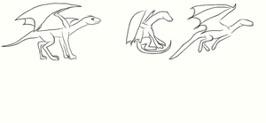 Basic poses by ShattenWolf