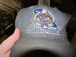 Dad's 2001 World Series Champs Cap by BigMac1212