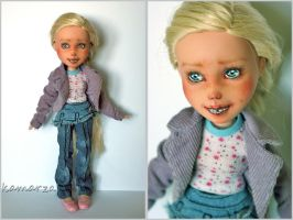 Candy OOAK Doll Repaint by kamarza
